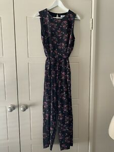 MARCS Silk Floral Jumpsuit Sz 14 Limited Edition