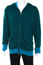 Baja East Multi-Color Cashmere Full Zip Knit Hoodie Size 4 $1995 New 109767