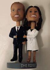Royal Couple bobblehead (Prince Harry and Meghan Markle) Greensboro Grasshoppers