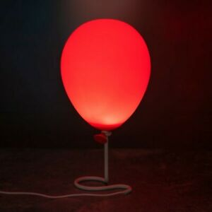 OFFICIAL STEPHEN KING IT PENNYWISE BALLON LAMP DESK TABLE LIGHT.