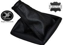 Costura negra Manual Cuero Gear Polaina encaja Kia Sorento Suv 2002-2009
