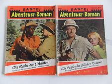 2x Comic Sammlung / Paket - Bastei Abenteuer Roman Band 7 + 8