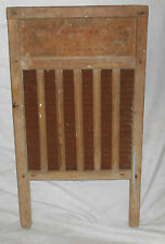 ANTIQUE WELL USED NATIONAL WASHBOARD NO 824