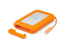 2TB LaCie Thunderbolt Rugged All-Terrain interfaccia duale: Thunderbolt, USB 3.0