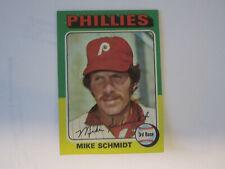1975 Topps # 70 Mike Schmidt Card Philadelphia Phillies (B67)