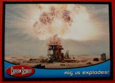CAPTAIN SCARLET - Card #51 - Rig 15 Explodes! - Cards Inc. 2001