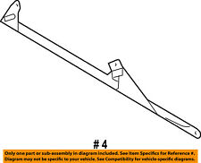 A//C CONDENSER UPPER FAN BRACKET 02-06 SPRINTER 2500 3500 OEM MOPAR 5119989AA