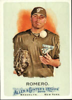 2010 Topps Allen and Ginter Baseball #77 Ricky Romero Toronto Blue Jays