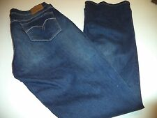 Women's Levis Bold Curve Low Rise Bootcut Skinny Jeans Size 32 x 32 Perfect