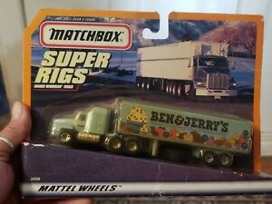 Matchbox Super Rigs Ben & Jerry's Truck