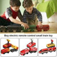 Electric Magnetic RC Track Train Set Simulation Model Toy For Children Kid Rech