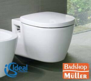 Ideal Standard Connect Wand Hänge WC Toilette Klosett Klo ohne Deckel E823201