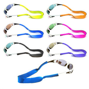 Children's Kids Neoprene Glasses Sunglasses Spectacle Head Strap Cord Holder UK