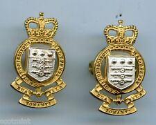 Royal Army Ordnance Corps Officers Collar  Badges