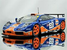 Minichamps McLaren F1 GTR 24h LeMans #33 Gulf Racing Diecast Model Car 1:18