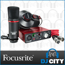 Focusrtie Scarlett Solo Studio 2nd Gen USB Audio Interface Bundle - NEW - DJ ...
