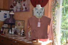 tee shirt repetto neuf  4 ans marron cinnamon 45 euros