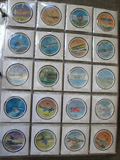 VINTAGE 1960's JELL-O AIRPLANE COINS NEAR COMPLETE SET 175 OF 200 RARE