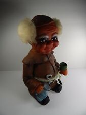Vintage Heico West German Bobble Head Monk with Tag.