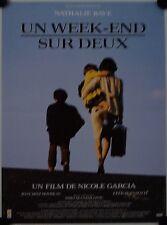 Affiche Cinéma WEEK-END SUR DEUX 1990 GARCIA Baye Serreau - 40x60cm
