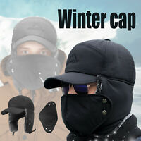Winter Trapper Face Mask Hat Ear Flap Cap Skull Warm Trooper Winproof Mask