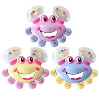 Kids Baby Crab Design Handbell Musical Instrument Jingle Shaking Rattle Toy