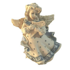 """Sarah's Angels -""""Child Angel With Harp� Figurine And Statue"""