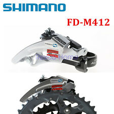 New Shimano Bike MTB Alivio Front Derailleur FD-M412 34.9mm Top Swing