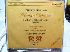 Andrea Chenier by Giordano-Melodrama Milano(Italy)--2 CD Set-made in Switzerland