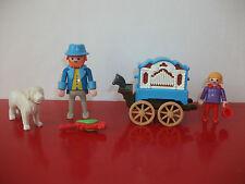 (15.5.10.22) Playmobil 5550 Joueur orgue barbarie 1900 Belle époqe