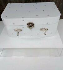 The Little White Company Keepsake Suitcase Empty Gift Box