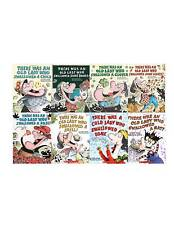 There Was an Old Lady Who Swallowed A... Collection Set 1-8 Childrens Books New!