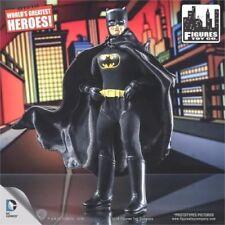 "DC Comics Batman Retro Mego 8"" BATMAN  figure Black Suit! Loose Mint"