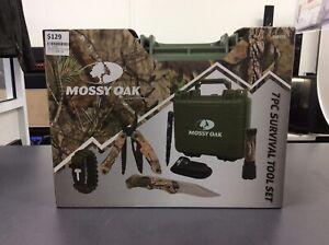 Mossy Oak 7pc Survival Tool Set