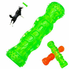Dog Chew Toys Indestructible Squeaky Tug Dog Toys Floating Tough Rubber for Pet