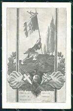 Militari Reggimentali 11º Reggimento Fanteria cartolina XF4404