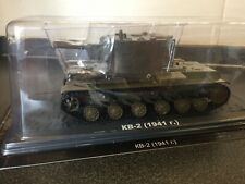 KV-2 1941 SOVIET HEAVY Tank Panzer Diecast Model 1/43 DeAGOSTINI