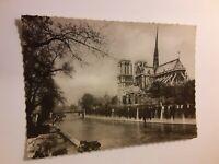 Notre Dame of Paris Vintage Postcard