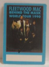 Fleetwood Mac / Stevie Nicks - Original Small Tour Cloth Backstage Pass