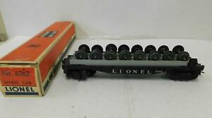 LIONEL 'O' POST-WAR 6262 FLAT CAR