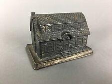 Vintage Metal Building Souvenir Cabin