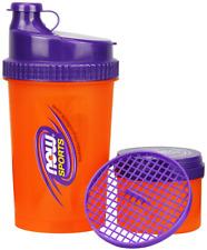 Now Foods Sports 3 In 1 Shaker Bottle 25 oz