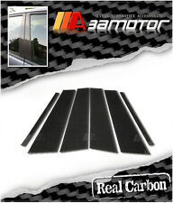 Real Carbon Fiber Pillar Panel Trim Covers 6pcs Set for 2004-2009 VW Golf V MK5