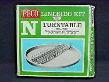 N Gauge Peco Lineside Kit NB-55. Well Type Turntable. Boxed & Mint.