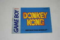Donkey Kong Nintendo Game Boy Video Game Manual Only