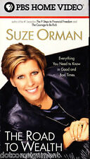 Suze Orman - The Road to Wealth 2001 Video Tape New Sealed