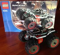 LEGO RACERS 8385 EXO STEALTH - PULL BACK MOTOR, COMPLETE W INSTRUCTIONS
