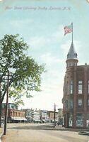 LACONIA NH – Main Street looking South
