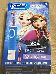 FROZEN ORAL- B PRO HEALTH JR RECHARGEABLE TOOTHBRUSH W/ TIMER Anna Elsa