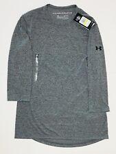 Under Armour Men's Siro Thread borne ¾ Sleeve Utility Shirt Sz M Gray 1316202